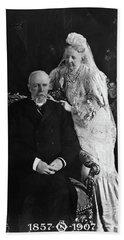Oscar II Of Sweden (1829-1907) Beach Towel