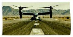 Osprey Takeoff Beach Sheet by Benjamin Yeager
