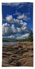 Otter Point Afternoon Beach Towel