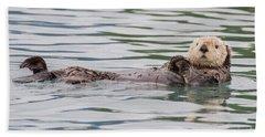 Otterly Adorable Beach Towel