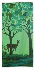 Out Of The Forest Beach Towel