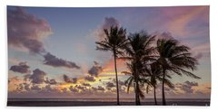 Out Of The Sky Came The Lights Beach Towel