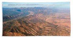 Outback Ranges Beach Towel