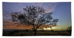 Outback Sunset  Beach Towel