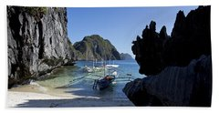 Outrigger Cove Beach Towel