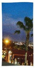 over the Luckman AT My CSU L.A. Beach Sheet