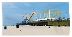 Pacific Park, Santa Monica Pier, Santa Beach Towel