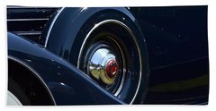 Beach Towel featuring the photograph Packard - 1 by Dean Ferreira