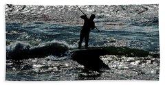 Paddleboard Dreams Beach Sheet