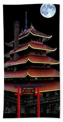 Pagoda Beach Towel