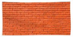Painted Brick Wall Beach Sheet