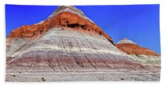 Beach Towel featuring the photograph Painted Desert National Park by Bob and Nadine Johnston