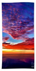 Painted Heavens Beach Towel
