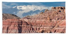 Painted Hills Of The Upper Jurrasic Beach Towel