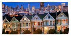 Painted Ladies Beach Towel by Inge Johnsson