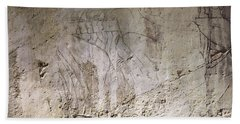 Painting West Wall Tomb Of Ramose T55 - Stock Image - Fine Art Print - Ancient Egypt Beach Towel