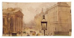 Pall Mall From The National Gallery Beach Towel
