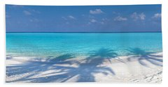 Palm Escape Beach Towel