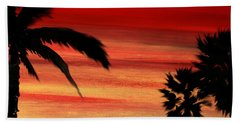 Palm Set Beach Towel