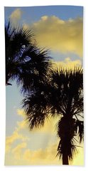 Palm Sunrise Beach Towel