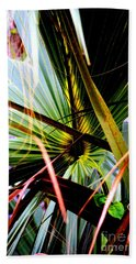 Palm Through The Fronds Beach Towel
