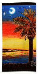 Palmetto Moon And Stars Beach Sheet