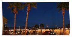 Palms At London Bridge Beach Towel