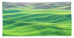 Palouse In Spring Beach Towel