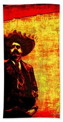 Pancho Villa Beach Sheet by Joan  Minchak