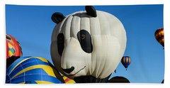Panda Balloon Beach Sheet