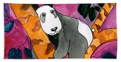 Panda Beach Towel