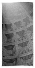 Pantheon Ceiling Beach Towel