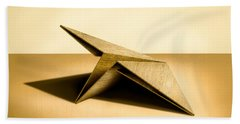Paper Airplanes Of Wood 7 Beach Sheet by YoPedro