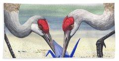 Paper Crane Beach Sheet