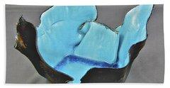 Paper-thin Bowl  09-001 Beach Towel by Mario Perron