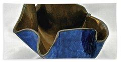 Paper-thin Bowl  09-005 Beach Towel by Mario Perron