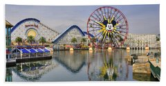 Paradise Pier Beach Towel