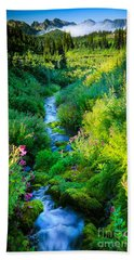 Paradise Stream Beach Towel
