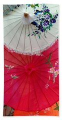 Parasols 1 Beach Towel