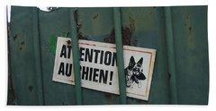 Paris - Farm Dog Beach Sheet