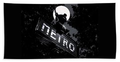 Paris Night Metro By Denise Dube Beach Towel