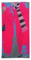 Paris Promenade Beach Towel