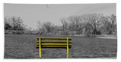 Park Bench Beach Sheet