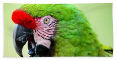 Parrot Beach Towel