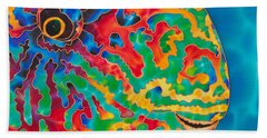 Parrotfish Beach Towel