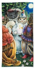 Party Cats Beach Towel