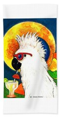 Party Parrot 1 Beach Towel