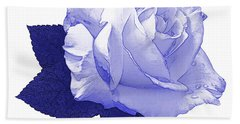Beach Towel featuring the photograph Pascali Rose by Jane McIlroy