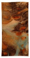 Beach Sheet featuring the painting Passage by Mike Breau