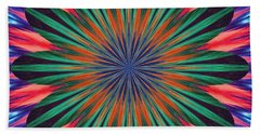 Passion Flower On Venus Beach Towel